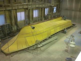 ルアー船建造