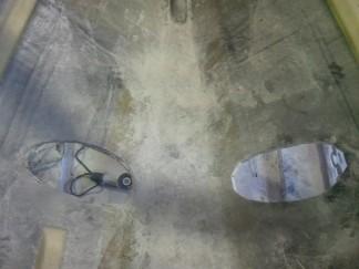 ルアー船スラスター穴