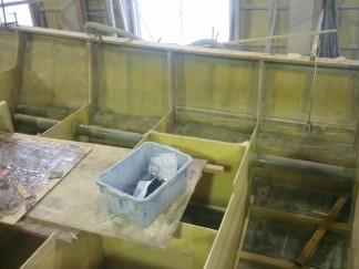 ルアー船油圧ホーストンネル