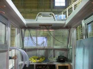 ルアー船電気の配線