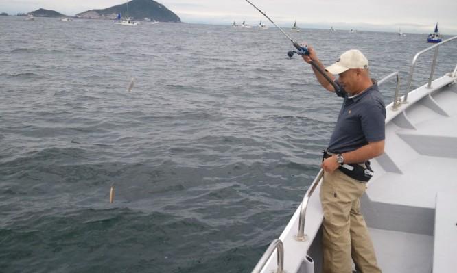 かます釣り